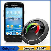 Cheap Wholesale - Cheap original Lenovo A300T SC8810 Single Core 1.0GHz 4.0 inch Android 2.3 Smart Phone GSM & TD-SCDMA Network Support Multi-ling