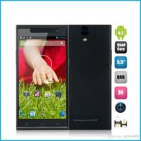 Cheap Wholesale - Ulefone U5 MTK6582 Quad core 5.5 Inch IPS QHD Screen Android4.2 OS phone 1GB RAM 4GB ROM 8MP Camera Unlocked 3G GPS Miracast OTG