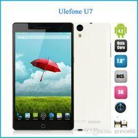 Cheap Wholesale - Ulefone U7 U69 Tablet 3G phone 7.0 inch 1200x1920 FHD Screen MTK6592 1.7 GHz Octa Core Android 4.2 OS RAM 2GB ROM 16GB 13.0MP OG