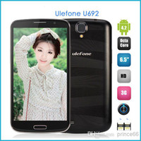 Cheap Wholesale - Ulefone U692 Android 4.2 OS MTK6592 1.7GHz Octa Core phone 6.5 Inch IPS HD Screen RAM 2GB ROM 16GB OTG 3G With Flip Leather Case