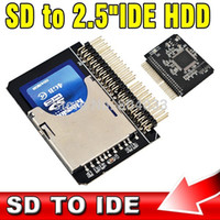 Wholesale SD to IDE quot Pin Adapter SDHC SDXC MMC to IDE inch pin Male Converter