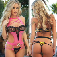 Cheap Fashion 2014 Sexy Lingerie Lace Dress Plush One-pieces Hot Underwear Sleepwear Costume Uniform Kimono plus 2colors #10 SV003182