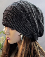 Wholesale New Unisex Mens Womens Knit Winter Hat Beret Skull Cap Ski Knitted Beanie Hat
