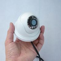 Wholesale 700 TVL LED IR Night Vision COMS Color Dome Camera CCTV Camera