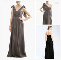 Reference Images Hand Made Flower Sleeveless 2014 Pleats Elegant Strapless DIY Convertible Neckline Backless Evening Dresses Flowing Chiffon Floor length Bridesmaid Dresses