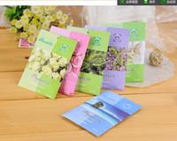 Wholesale 10g Mini Fragrance Sachet Flavor Fragrance Vermiculite Different Flavor Home Decoration Smoke Refreshener