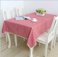 lace tablecloth - Tablecloth Factory direct sales European style Cotton and Linen Tablecloth Red white tablecloth Lace tablecloth Table clothTB009