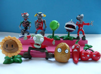 Wholesale Plants vs Zombies PVZ Collection Figures set in one set Retail