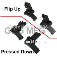 Wholesale OP AR Front Rear flip up Degree Rapid Transition BUIS Backup Iron Sight