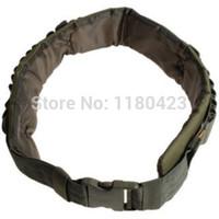 bandolier band - OP High Quality Adjustable Durable Bandolier Ammo Belt Shotgun Shells Belt Waist Band Army Green