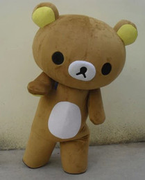 Janpan relaxation bear Mascot Costumes Adult Size for Halloween party high quality Mascot Costumes