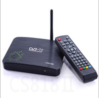 Wholesale G BOX m6 Dual Core TV BOX Cortex A9 LAN G G Support Youtube built in wifi i free drop shipping for months warranty free hongkongpost