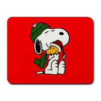 Wholesale Snoopy Woodstock Red design customize Gaming office Mousepad Mouse Mat