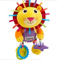 Cheap Wholesale-OP-Retail - Free Shipping baby toys,bed hanging & sound toys, brand lovely lion toy