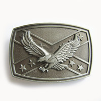 Wholesale Belt Buckle Original Rebel Flag With Eagle