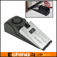 Wholesale 120 DB Security Home Wedge Shaped Door Stop Alarm Block Systerm Gate Resistance