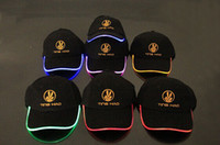 led light baseball cap - 2014 new luminous LED light hat hat baseball cap cap hat flash