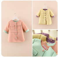 Wholesale 2014 Children New Arrival Fashion Outwear Big Children Spring Lovely Outwear Big Girls Spring Lovely Candy Color Outwear