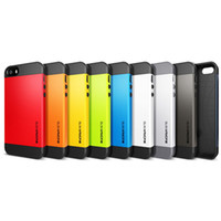 Cheap SGP Hybrid Slim Armor Color Case Cover for Apple iPhone 5 5G 5S 4 4G 4S Samsung Galaxy S5 S4 i9500 S3 Note3 N9000 Promotion
