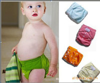 Wholesale 7 COLOR Baby Diapers Clothes Diapers Adjustable SIZE baby Diapers Diaper mix colour best quality H398