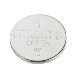 Wholesale 3V CR2032 DL2032 lithium button cell battery with mah capacity in plate packing for electrical candles toys watches lights