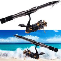 carbon fiber fishing rod - HOTSALE m m Telescope Fishing Rod Fishing Spinning Ultra Light Rods Carbon Fiber Saltwater Rock Fishing Rod Fishing Tackle