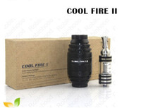 Cheap Authentic 100% Newest Innokin Cool Fire 2 kit with Iclear 30B electronic cigarette Cool fire II Black And Jungle Camo 5 sets DHL free
