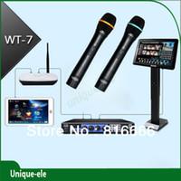 karaoke machine - KARAOKE machine Jukebox TB HD Wired Microphones