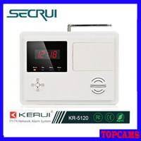 Wholesale Secrui digital clock display ISD automatic voice Wireless Zones Burglar Alarm System Phone long distance control KR surveillance