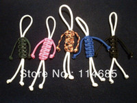 zipper pull - Paracord Parafigures Keychain Zipper Pull Geocache Trade Items