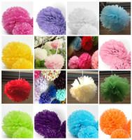blue tissue paper - 8 quot Multicolor Tissue Paper Pom Poms Babyshower Birthday Party Wedding DecorationLavender