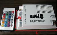 Cheap 60W Music IR controller ,12V ,5A,60W ,For RGB led strip or RGB led spot light