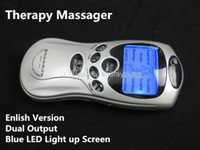 Wholesale Electric Shock Therapy Massage Health Care Full Body Massager Machine for accessories with mm plug BDSM Bondage Gear Sex Toys Products