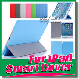 Wholesale Newest Design Smart Cover Magnetic Cases For iPad Air iPad iPad Mini Retina PU Leather Folding Case With Sleep Wake Funtion