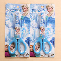 Wholesale Frozen Cartoon Office Scissors Craft DIY Artwork Shears Children Scissors Toys School Supplies SK040