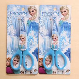 Wholesale Frozen Cartoon Office Scissors Craft DIY Artwork Shears Children Scissors Toys School Supplies SK040