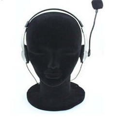 11'' Styrofoam Foam Mannequin Head Male Black Model Display Tool Wigs Hat Holder