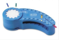 Cheap New Dental Twin Block Endo Files Reamer Measure Tools Accessory Endodontic Ruler