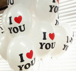 Wholesale 10PCS Latex Balloon Love Wedding Decoration Balloon Kids Toys Gifts Fit Party Room Christmas Ornament ZVE1