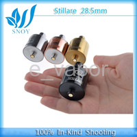 Electronic Cigarette Atomizer / Top Quality Stillare Atomizer 28MM for 26650 battery mod Stainless rebuildable Clone V2 kraken hades mod clone Tank Electronic Cigarette