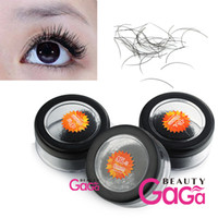 Wholesale BeautyGaGa Supply sizes mm C Curl Natural Individual False Eyelash Extension Pro Mink Makeup Eye Lash Tools