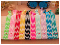 foe - FOE elastic Yoga Hair ties knotted Tie bands lucky hair tie girl s Hair accessories drop shipping