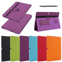 Wholesale Promotion China PU Leather Case For Samsung GALAXY T520 Flip Case Cover