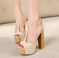 Where to Buy Nude Thick Heel Sandals Online? Where Can I Buy Nude ...