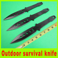 Folding Blade bbq knife - 2014 set throwing knife diving knife Tied hand knife bbq tactical camping utility hiking knives best christmas gift L