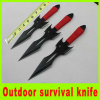 Wholesale Hot sale super throwing knife diving knife Tied hand knife utility outdoor survival camping hiking knives set christmas gift L