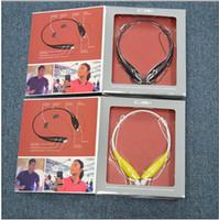 Wholesale 2 YJ Newest Arrive HBS Stereo Portable sport headset In ear Headphones Suport apt X bluetooth Earphone LG HBS730