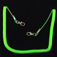 Wholesale Fishing Tools To Protect Rope Green Longest Retractable Cord M Protection Tools Fish Pole Rod Protector Elastic Plastic