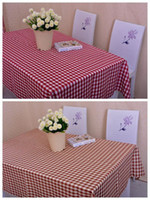 Wholesale Details about Buffalo Checked Gingham Cotton Kitchen Tablecloth Assorted Colors Sizes Table Cloths