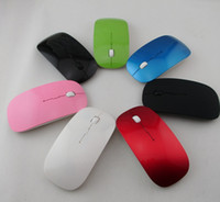 Wholesale Factory Offer G Wireless Thin Optical Mouse Colorful For Laptop Notebook PC DHL free